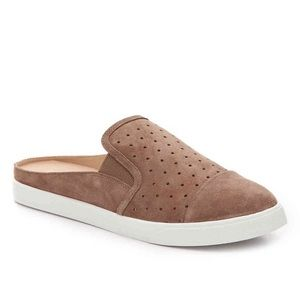 BCBG Suede Slip On Style Suede Loafers